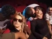 Erica Andrea Jean and Luna Lombardi fucking in the movie